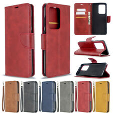 For Samsung S20 FE Note20 A42 Magnetic PU Leather Flip Wallet Phone Case Cover