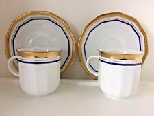 Vintage Tirschenreuth Bavaria Demitasse Espresso Coffee Cup & Saucer Set of 2
