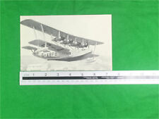 G-ABFB flying boat press cutting circa 1936