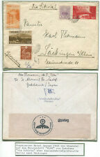 "Fp. Vorläufer! Motorschiff ""Elbe"" Yokohama/Japan vom Januar 1940"