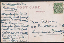 Genealogy Postcard - Family History - Fitness - Loughbroro Junction  BH5082