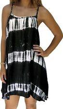 Knee-Length Summer/Beach Striped Sundresses for Women