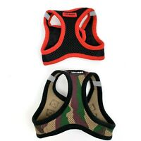 Voyager Size XS Dog Puppy Camo  Black Red Pet Harness Lot of 2