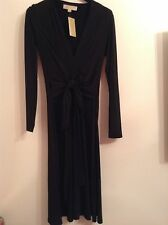100 Auth by Michael Kors Ladies Classy Amalfi Black Dress. XS