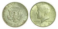 pci1379)  USA 1/2 Dollaro Half Dollar Kennedy Argento  1964 Toned