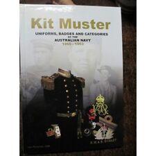 Kit Muster Uniforms Badges Medals of the Australian Navy Boer WW1 WW2 RAN Book