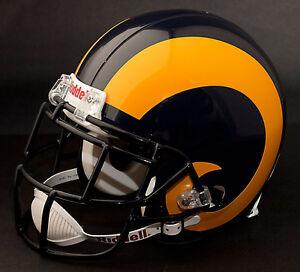 MARSHALL FAULK Edition LOS ANGELES RAMS Riddell REPLICA Football Helmet