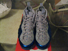 NEW Nike Air Foamposite One Blue/Gray 1 I 4 IV 5 V 6 VI 8 VIII 11 XI  sz 11!!!!!
