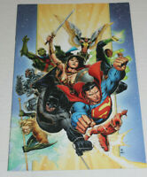 Justice League Comic #1 (2018) DC Retailer Gift Virgin Variant Cheung NM 9.4 or