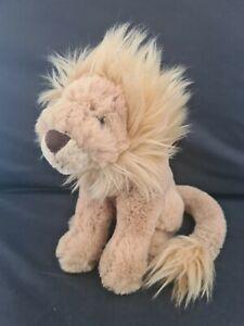 Jellycat Small Leonardo Lion Soft Cuddly Plush Toy