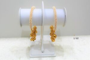 Indian Traditional Pakistani Bollywood Trendy Gold Plated Bangles for Kids