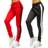 Sporthose Trainingshose Hose Jogging Laufhose Sport Gym Motiv Damen BOLF Fitness