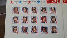 1977-78 COCA COLA HOCKEY CARD SET & ALBUM BOBBY ORR MARCEL DIONNE BOB CLARKE
