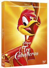 I TRE CABALLEROS RARO DVD DISNEY REPACK 2015 FUORI CATALOGO - SIGILLATO