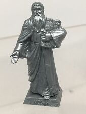 Marx Recast Moses In Silver Colored Plastic