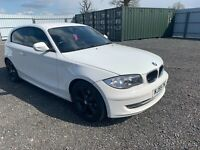 BMW 116d SPORT 09/59 IN WHITE MOT SERVICE HISTORY SPARES OR REPAIRS