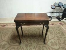 Beautiful Mahogany Card Game Table, c. 1700 (LOCAL PICK UP ONLY)