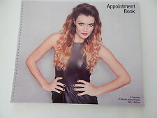 Hairdressing & Beauty Salon  6 Column Appointments Book