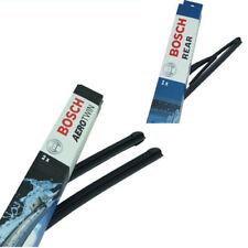 Bosch Limpiaparabrisas Delantero Trasero para RENAULT SCENIC II JM. a957s H801