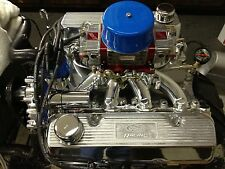 CUSTOM BUILT 351 CLEVELAND FORD ENGINE 427 CUBIC INCH TRICK FLOW HEADS