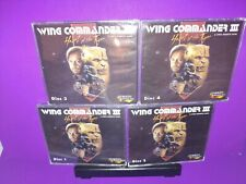 Wing Commander III Heart Of The Tiger PC/DOS  CD ROM 4-Disc No Manuals B466