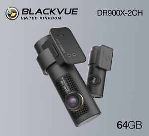 BlackVue Dash Cam DR900X-2CH 4K Front and Rear Wi-Fi GPS (64GB) - NEW