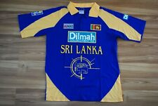 Sri Lanka National Cricket Team Shirt World Cup 1996 Size Medium Mens Jersey Vtg