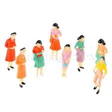1 75 Scale Train Scenery DIY Diorama Plastic Model Train People Figures 100pcs