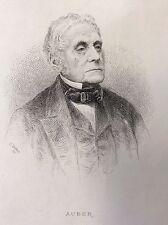 Daniel-François-Esprit Auber (1782-1871) compositeur Musique France