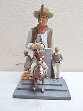 "John Wayne The American Legend Sculpture 13.5"" The Bradford Exchange"