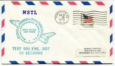 1979 NSTL George Marshall Space Flight Center Rockwell Test 008 Engine 007 10sec