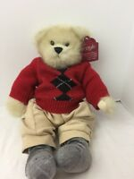 Argyle Bear By Premier Sweater and Socks Outfit plush 15""