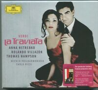 2 CD Verdi La Traviata Anna Netrebko Rolando Villazon Thomas Hampson 2005