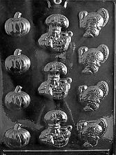 THANKSGIVING ASSORTMENT Chocolate Candy molds thanksgiving mold t2 turkey