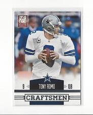 2012 Elite Craftsmen #12 Tony Romo Cowboys /999