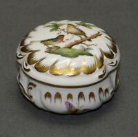 Herend Hvngary,Deckeldose, Porzellan, Rothschild, 6036/RO, Ø 8,0 cm