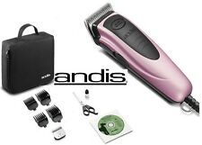 Andis Pet Dog Cat Home Grooming CLIPPER KIT-2 Blades,4 Guide Combs,Scissors,Case