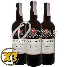3 VINO PORTO TAYLOR'S FINE WHITE PORT WINE