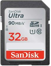 SanDisk Ultra 32GB SD Card Class10 90MB/s Memory Card Quick Transfer Speeds