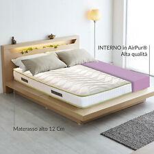 Materasso ortopedico per divano letto in AirPur® alto 12 cm ANTIACARO - ART
