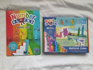 Numberblocks Cbeebies mathslink Number Blocks, and annual 2021 gift sen