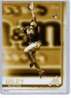 Austin Riley 2019 Topps Update Variations 5x7 Gold #US100 /10 Braves