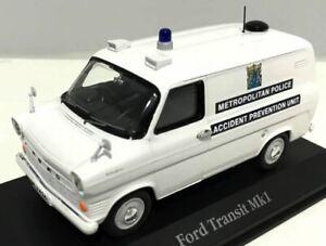 """Atlas 1/43 Ford Transit """"Metropolitan Police"""""""
