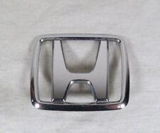 HONDA CIVIC CRX HOOD EMBLEM 88-91 GENUINE OEM CHROME BADGE logo symbol sign
