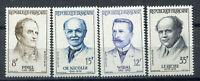 S9588) France MNH 1958, Medicians 4v