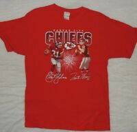 Kansas City Chiefs T Shirt Priest Holmes Trent Green Red NFL Vintage Tee Large