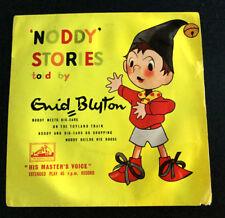 NODDY STORIES told by ENID BLYTON EP45 record BIG EARS 7EG 8260 vintage original