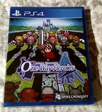 Mystery Chronicle One Way Heroics Limited Run Games #20 PS4 PlayStation 4 NEW