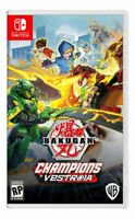 Bakugan: Champions of Vestroia Nintendo Switch Brand New Sealed