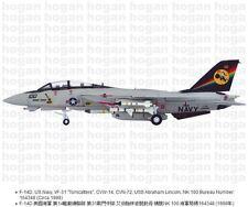 "Hogan Wings 6689, F-14D, US Navy, VF-31 ""Tomcatters"", CVW-14, CVN-72, USS Abraha"